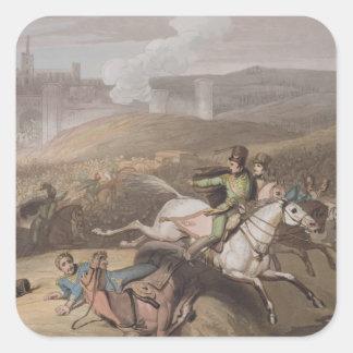 Vitoria, el 21 de junio de 1813, 'de las victorias pegatina cuadrada