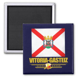 Vitoria-Gasteiz 2 Inch Square Magnet