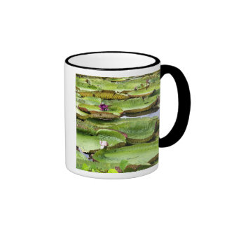 Vitoria Regis, giant water lilies in the Amazon Ringer Mug