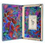 Vitral abstracto floral del aire del iPad de Dodoc