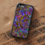 vitral abstracto floral duro del caso del iPhone 6 Funda De iPhone 6 Tough Xtreme