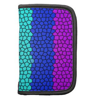 Vitral coloreado arco iris (horizontal) planificador