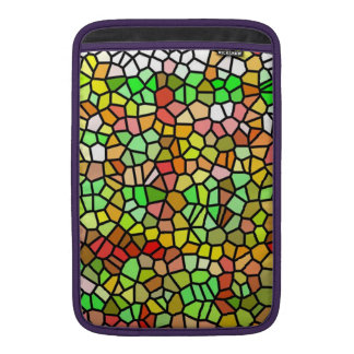 Vitral colorido abstracto fundas macbook air