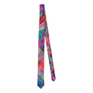 Vitral colorido del lazo corbata