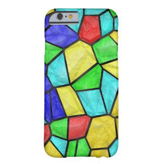 Vitral colorido del mosaico