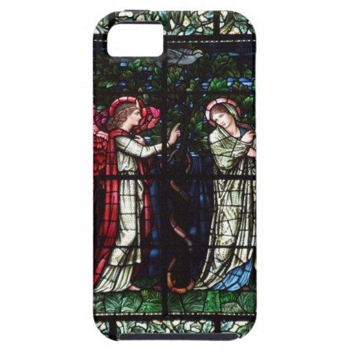 Vitral de Burne-Jones iPhone 5 Cárcasa