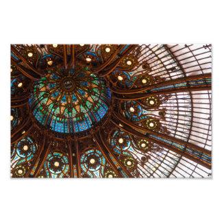 Vitral de Galeries Lafayette Fotografías