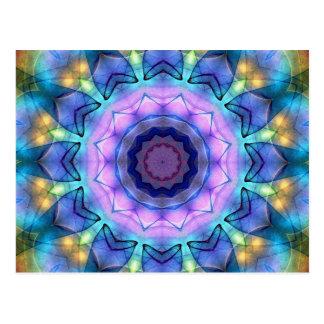 Vitral de la lila postales