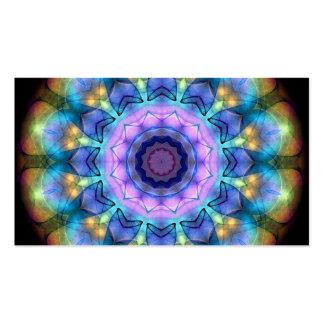 Vitral de la lila tarjeta de visita