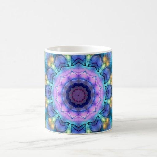 Vitral de la lila taza clásica