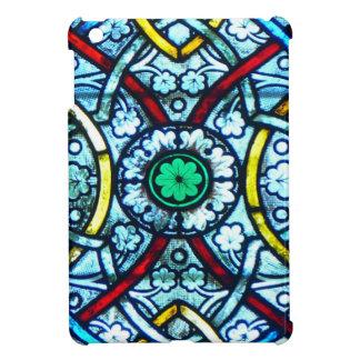 Vitral de Notre Dame iPad Mini Carcasa