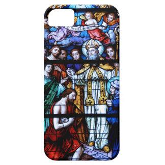 Vitral de St Augustine iPhone 5 Fundas
