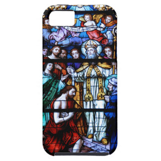 Vitral de St Augustine iPhone 5 Case-Mate Protector