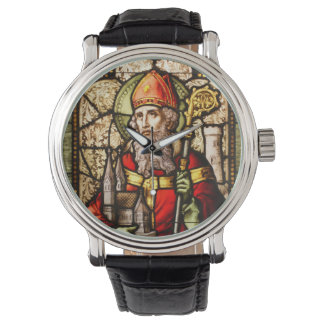 Vitral de St Patrick Relojes