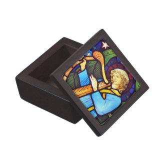 Vitral de William Morris Cajas De Joyas De Calidad