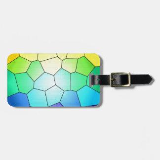 Vitral del arco iris a modificar para requisitos p etiquetas maletas
