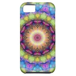 Vitral del arco iris iPhone 5 Case-Mate funda