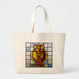 Vitral del santo grial - sacramento bolsa tela grande