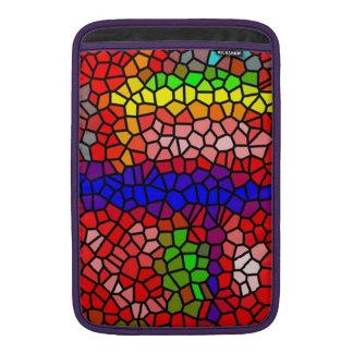 Vitral mutlicolored elegante funda  MacBook