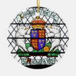 VITRAL RICHARD III DE REINO UNIDO ORNAMENTE DE REYES