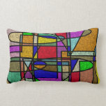 Vitral Stained Glass Throw Pillow