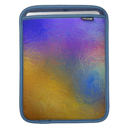 Vitral, ventana brillante colorida transparente fundas para iPads