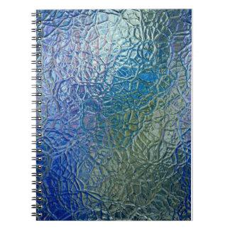 Vitral, ventana brillante colorida transparente notebook