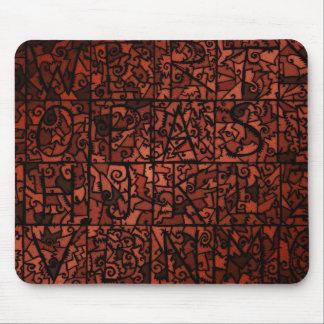Vitral viejo 4 mouse pad