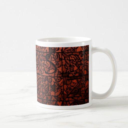 Vitral viejo 4 taza