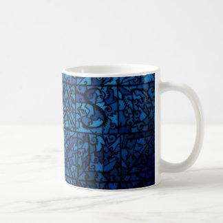Vitral viejo taza clásica