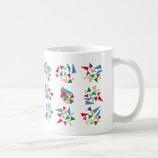 Vitreaux quebrado taza de café