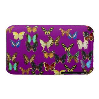 Vitrina de la mariposa iPhone 3 cobertura