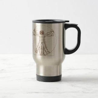 Vitruvian Barista Travel Mug