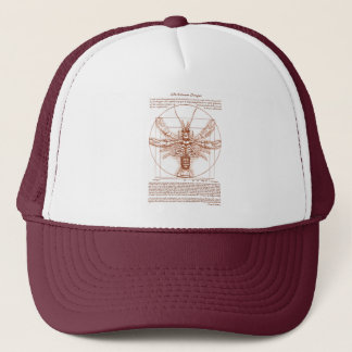 Vitruvian Crawfish Rust Color Trucker Hat