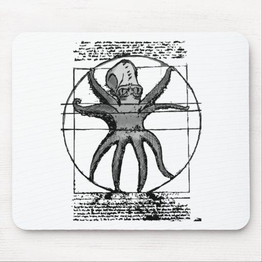 Vitruvian Cthulhu. Alfombrilla De Raton