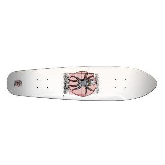 Vitruvian Cthulhu. Skateboard Deck