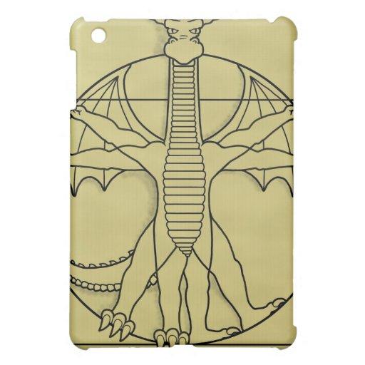 Vitruvian Dragon iPad Mini Covers