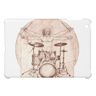 Vitruvian Drummer iPad Mini Covers