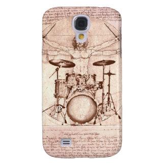 Vitruvian Drummer Samsung Galaxy S4 Case