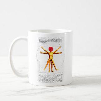 Vitruvian Figure Coffee Mug