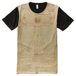 Vitruvian Man All-Over Print Shirt