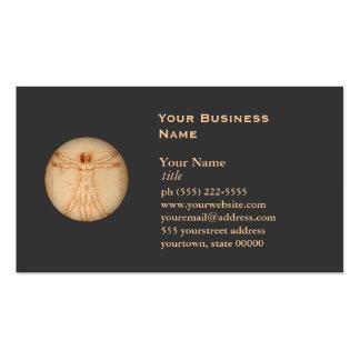 Vitruvian Man Business Card