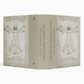 Vitruvian Man by Leonardo da Vinci Binders