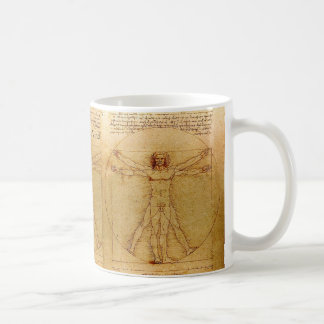 Vitruvian Man By Leonardo Da Vinci Coffee Mug