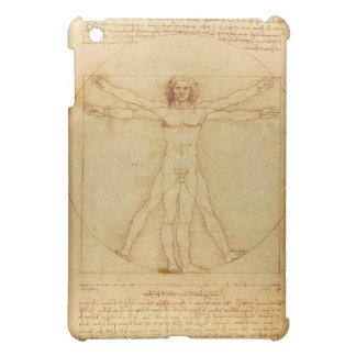 Vitruvian Man by Leonardo da Vinci Case For The iPad Mini