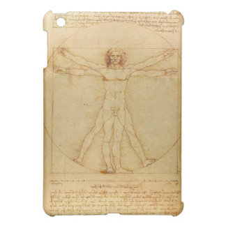Vitruvian Man by Leonardo da Vinci iPad Mini Covers