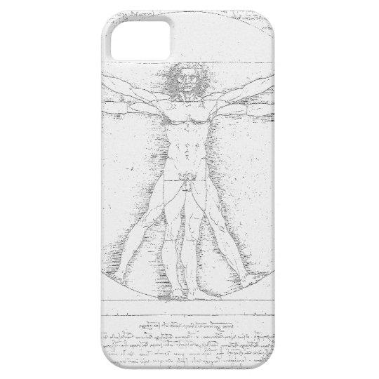Vitruvian Man by Leonardo da Vinci iPhone SE/5/5s Case