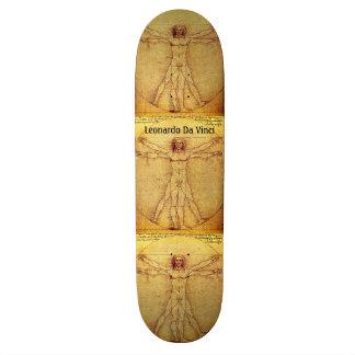 Vitruvian Man By Leonardo Da Vinci Skateboard