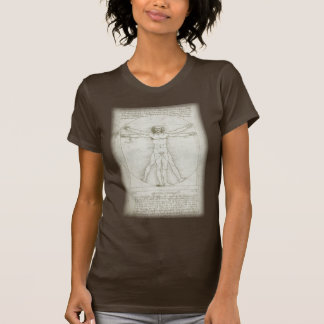Vitruvian Man by Leonardo da Vinci Shirts