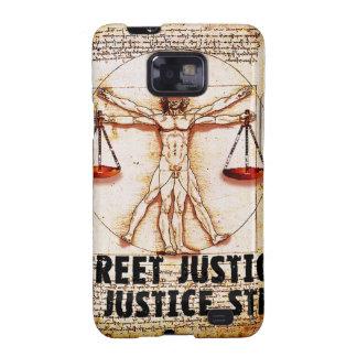 Vitruvian Man by Street Justice Galaxy SII Case